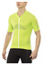 X-Bionic Effektor Biking Powershirt Short Sleeves Full Zip Men Green Lime/Pearl Grey